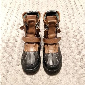 Boy Polo RL Conquest Boots Paid $75 Size 5